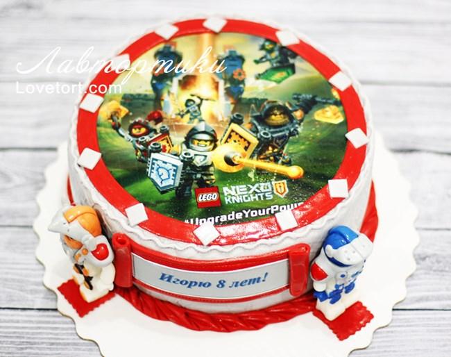 лего нексо найтс торт фото