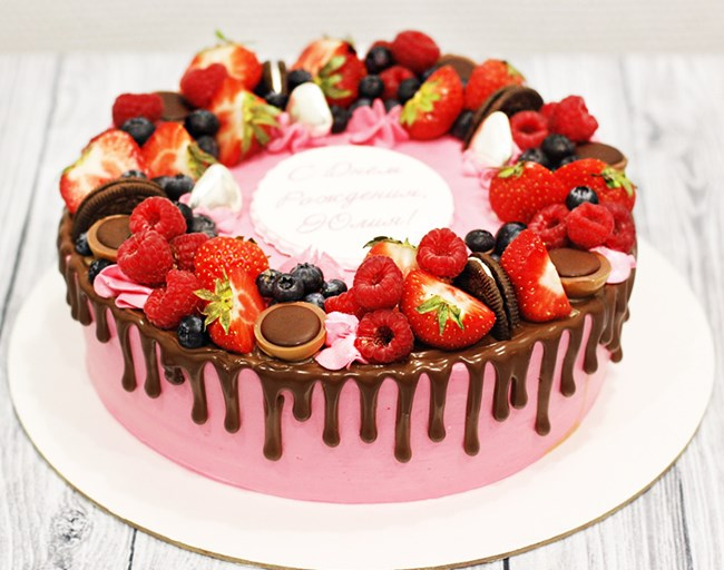 фото торты на день рождения заказать