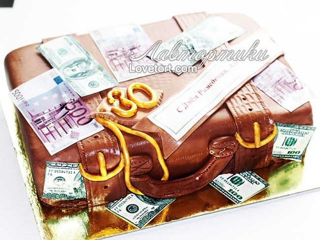 Поздравления с денежным тортом 71