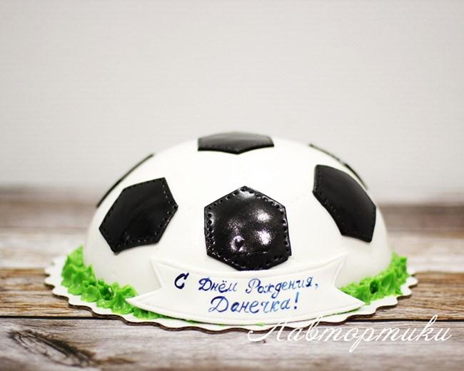 Как сделать футбольный торт своими руками