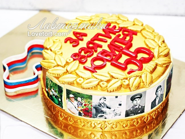 фото торт мужчине на 55 лет