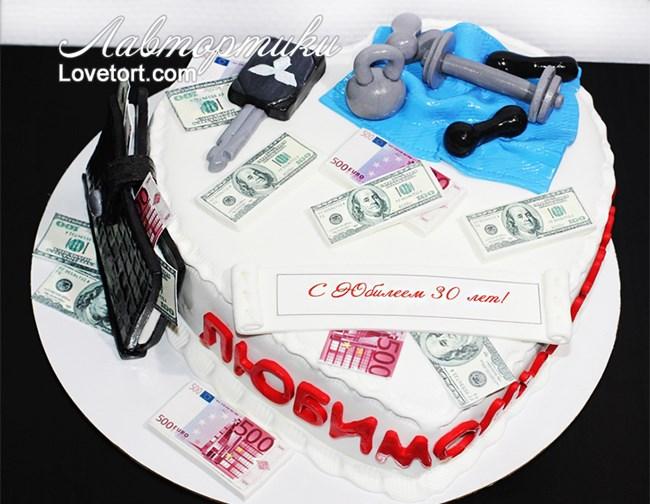 Поздравления с денежным тортом 88